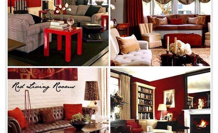 Stylist Inspiration Red Brown Living Room Ideas Home