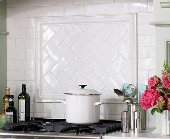 Subway Tile Classic Choice Backsplash