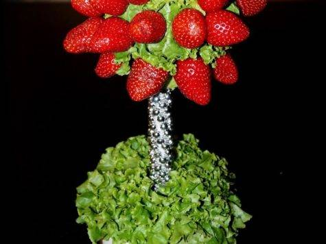 Sugarella Sweets Edible Fruit Arrangement Centerpiece