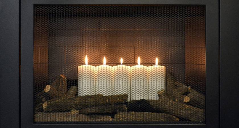 Summer Candles Decorative Element Hearthcabinet