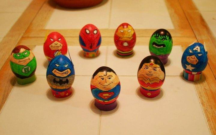 Superbly Decorated Pop Culture Easter Eggs