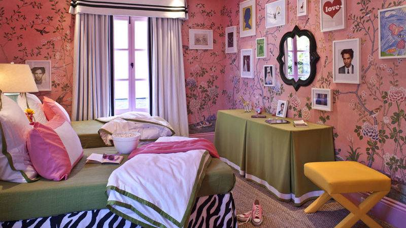 Suzy Better Decorating Bible Pink Chinoiserie Girls