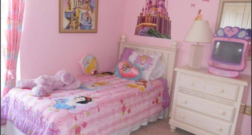 Sweet Girl Room Decor Princess Themed Bedding Disney