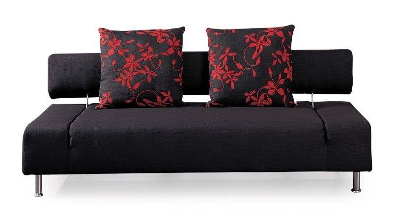 Sydney Seat Couch Sofa Bed Black Cushions Buy