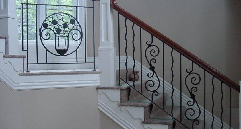Sylvan Custom Iron Works Stair Railings French