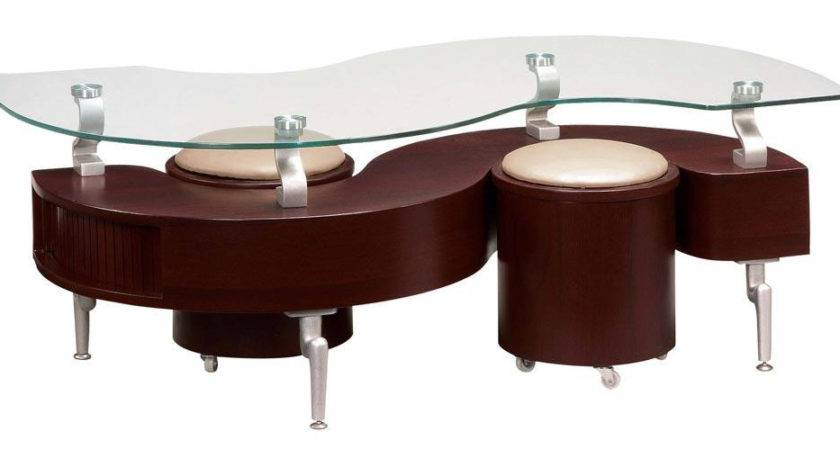 Tables Unique Modern Design Mahogany Coffee Table