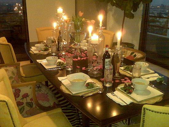 Tablescapes Dinner Party Decorating Ideas Popsugar Home