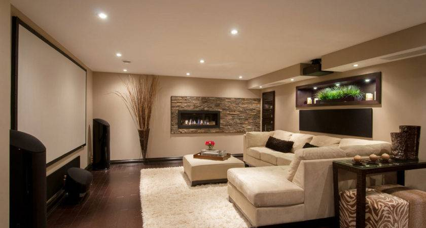 Take Your Home Next Level Stylish Media Room