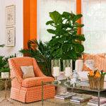 Tangerine Home Decor Pantone