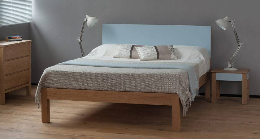 Tao Contemporary Painted Wood Bed Natural Company