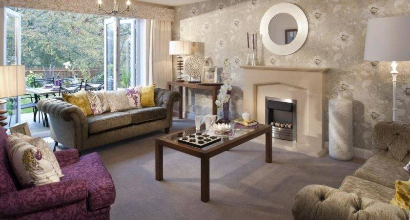 Taupe Room Ideas Purple Beige Living