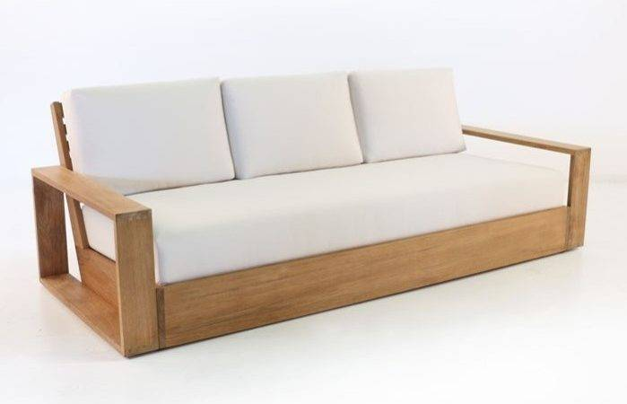 Teak Outdoor Sofa Honore Chaise Daybeds James Daybed
