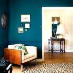 Teal Accent Wall Bedroom Design Feature Paint