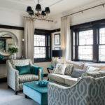 Teal Black White Living Room Ideas Pixshark