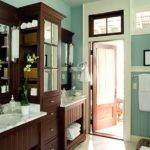 Teal Brown Bathroom Your House New Interior Exterior