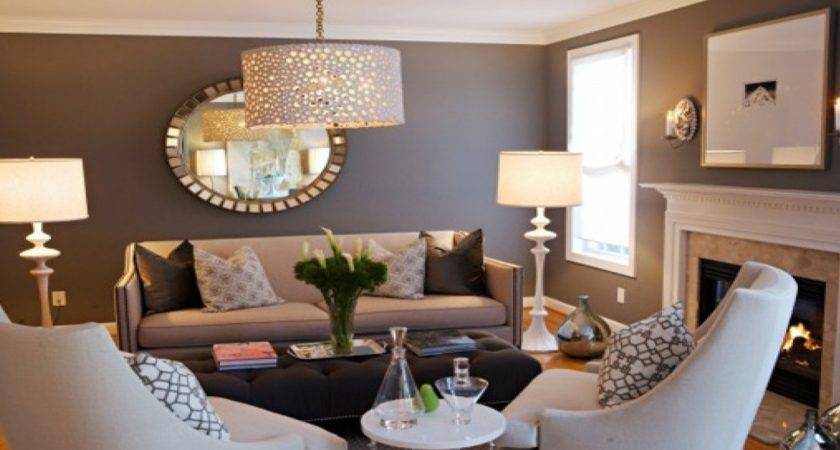 Teal Brown Decor Lounge
