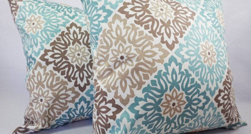 Teal Couch Pillows Cool Throw Esprit