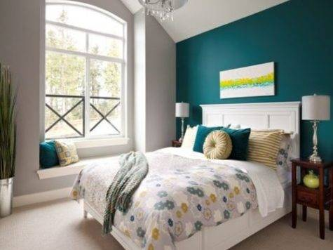Teal Grey Bedroom Ideas Remodel Decor