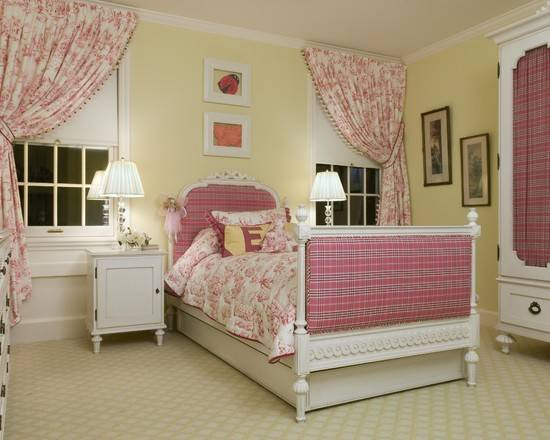Teen Girl Bedroom Ideas Yellow Pink Jill Doppel