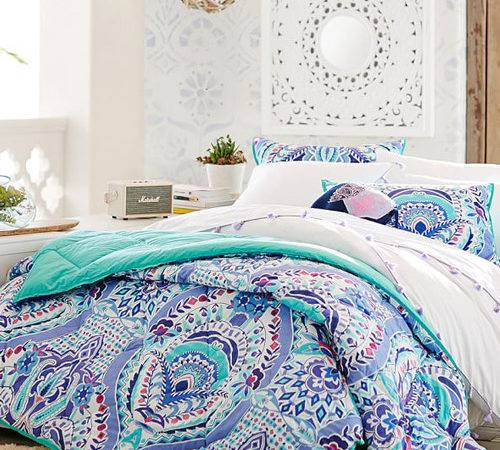Teen Girl Comforter Totally Trellis Bedding