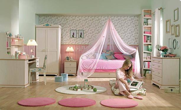 Teen Girl Room Flora Cilek Furniture