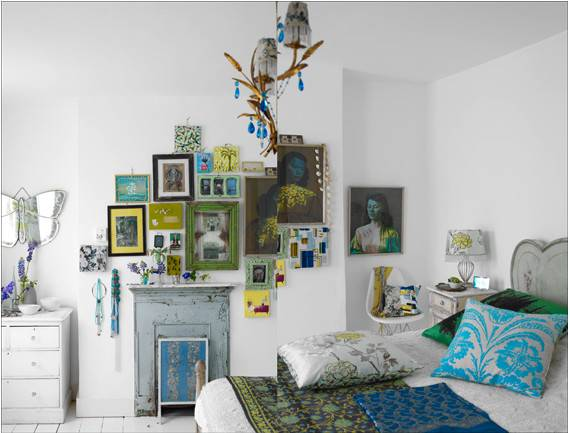 Ten Colorful Ways Decorate Your Home Without Paint