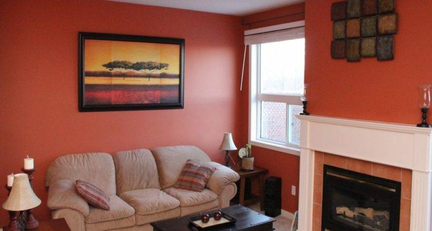 Terracotta Room Ideas Living Rooms Walls