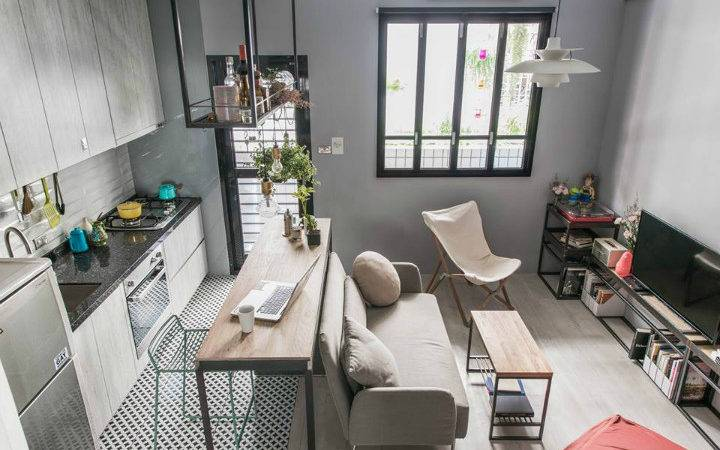 There Right Way Small Studio Apartment
