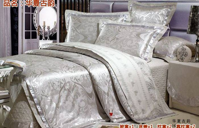 Thin Layer Quilted Luxury Silk Bedding Set Tribute