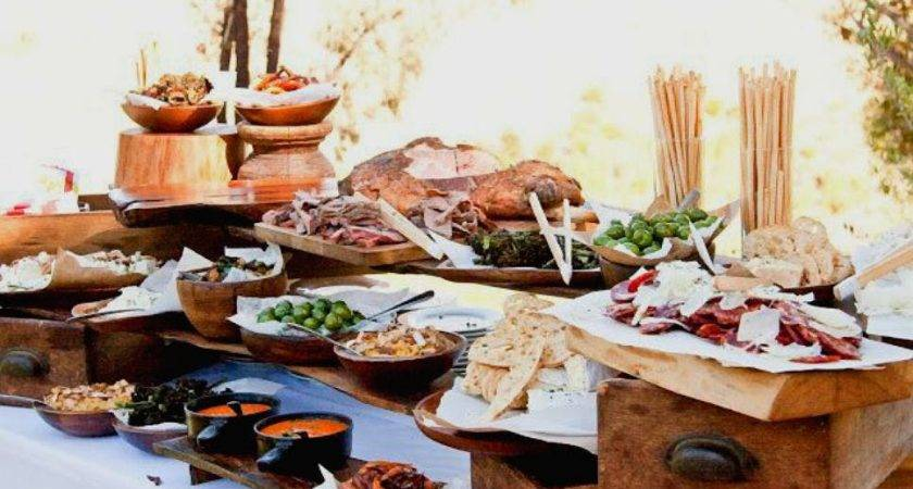 Think Outside Dessert Table Fresh Food Stations