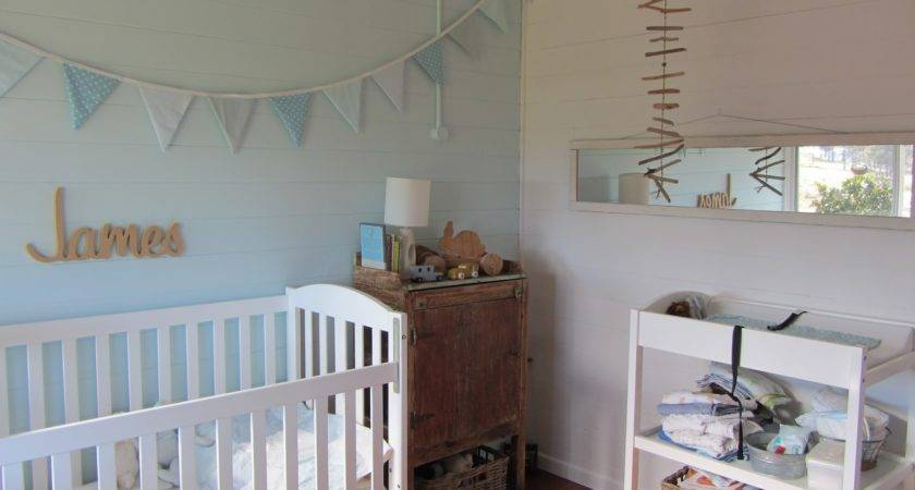 Thom Haus Handmade Soft Colours Baby Boy Bedroom
