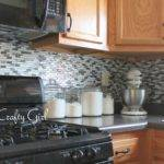 Thrifty Crafty Girl Easy Kitchen Backsplash Smart Tiles