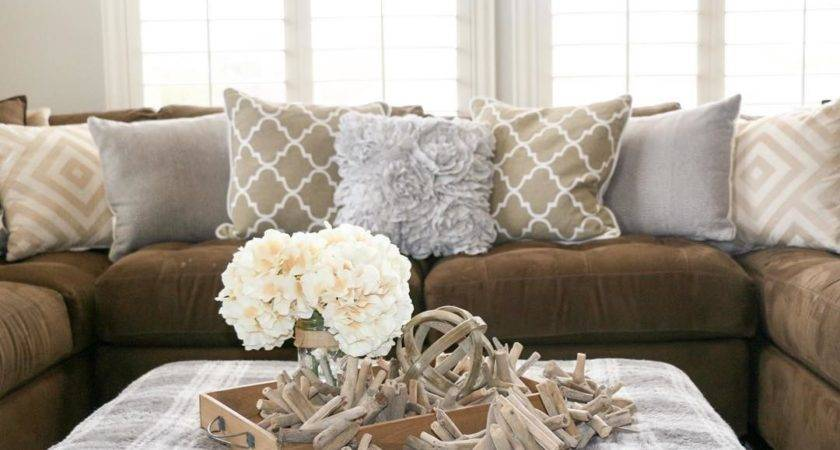 Throw Pillows Brown Sofa Best Couch Decor