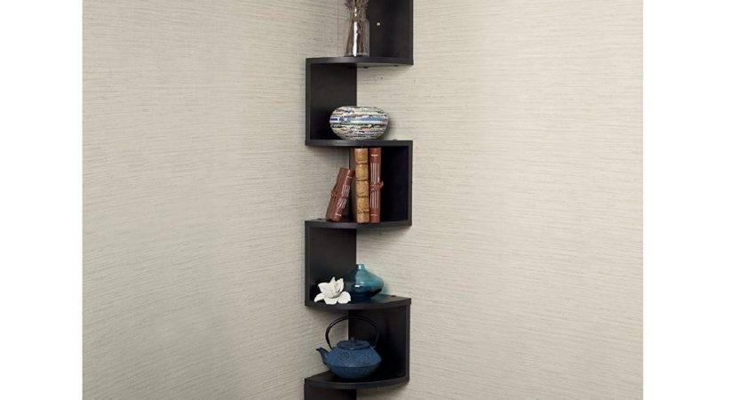 Tiers Wall Mount Shelves Large Home Decor Corner