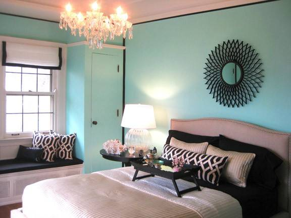 Tiffany Blue Bedroom Design Wisconsin Breast Cancer