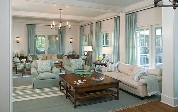 Tiffany Blue Living Room Ideas