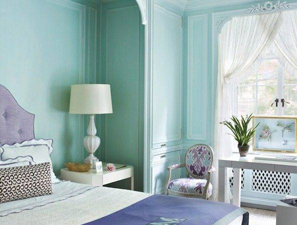 Tiffany Blue Room Design Ideas