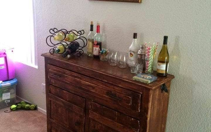 Timbo Creations Small Indoor Rustic Bar