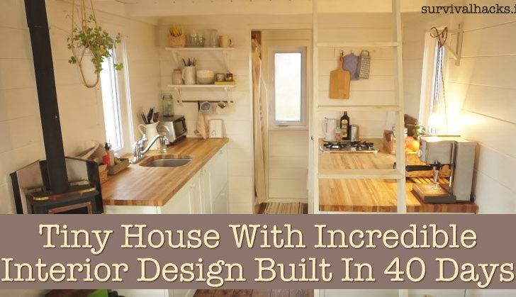 Tiny House Incredible Interior Design Built