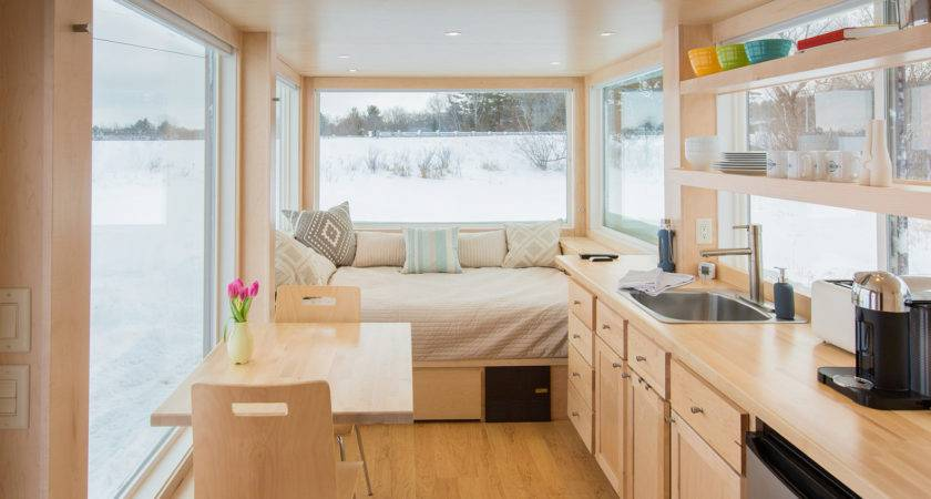 Tiny Trailer Home Like Other Adorable