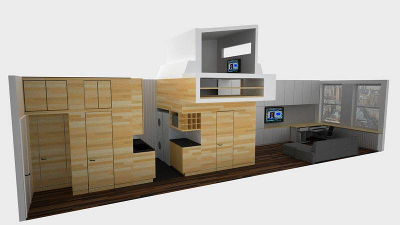 Tiny Yet Very Cosy Studio Apartment Design Digsdigs