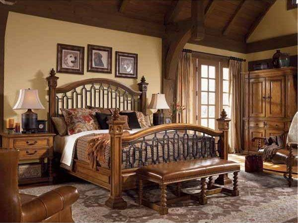 Tips Complete Traditional Wooden Bed Designs