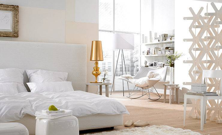Tips Creating Perfect White Bedroom Glitter
