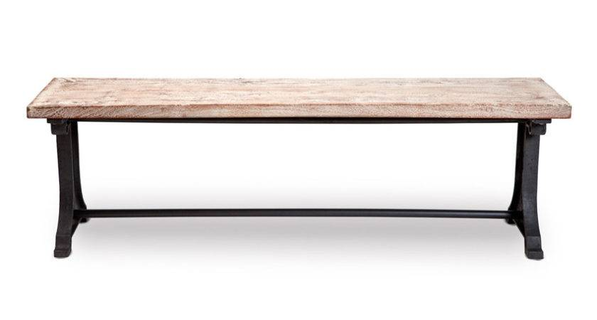 Toby Bench Industrial Chic Style Furniture Oli Grace