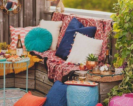 Top Beauty Bohemian Patio Designs Easy Decor Project