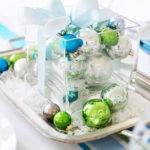 Top Blue White Silver Christmas Decorations
