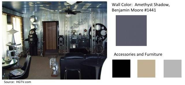 Top Man Cave Colors