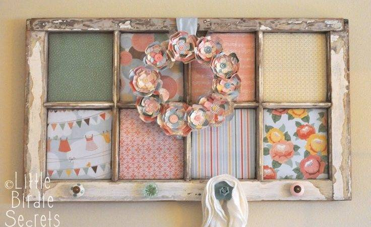 Top Smart Diy Ideas Recycling Old Windows