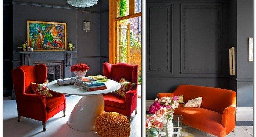 Top Trend Flame Color Home Interior Design