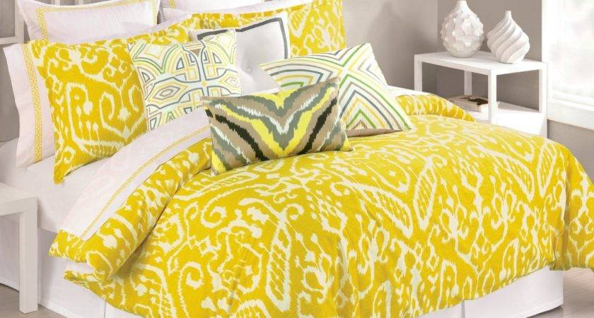 Total Fab Mustard Yellow Comforters Bedding Sets